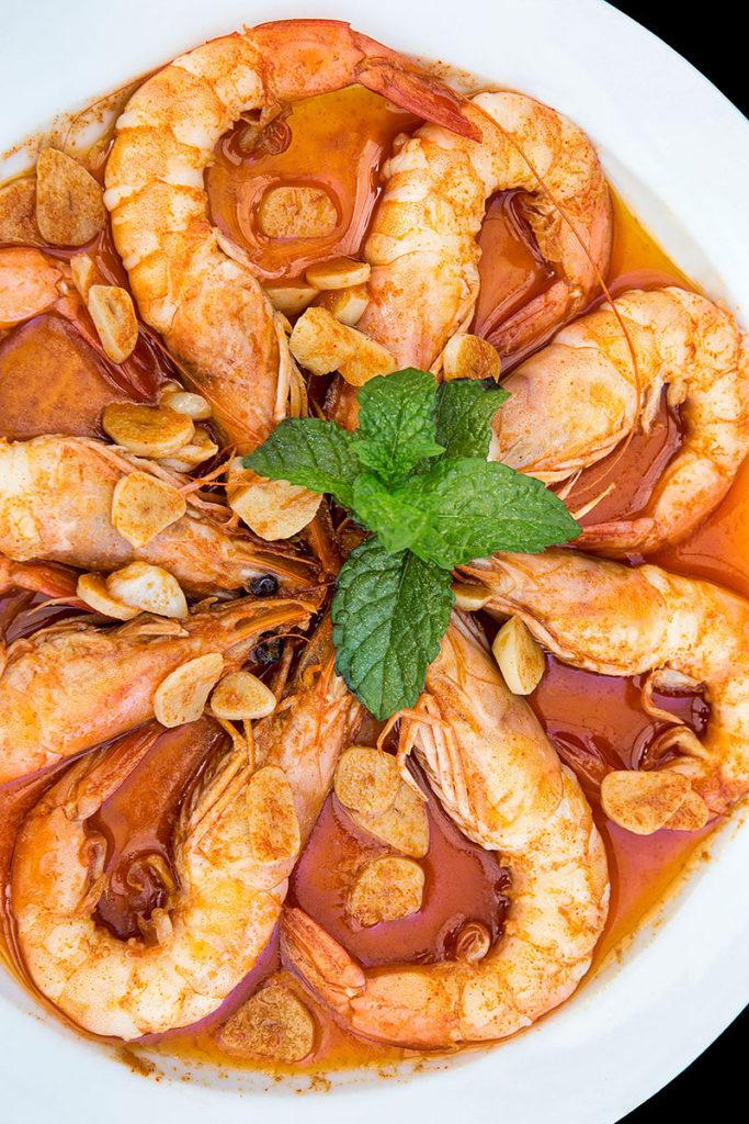 langostinos-salsa-tio-pepe-taberna-el-velero